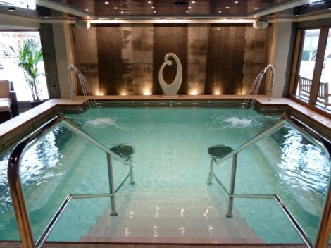 Relax on a spa cruise archives friendly cruises blog for Hydroponic pool
