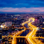 Saigon-Aerial-Night