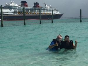 Snorkeling Castaway Island with Sting Rays
